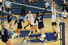 CU Volleyball vs. Wheeling Jesuit 9.6.2014