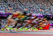 Women's 100m semifinal 3