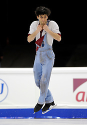 23.03.2010, Torino Palavela, Turin, ITA, ISU World Figure Skating Championships Turin 2010, Männer Kurzprogramm, im Bild Samuel Contesti (ITA), EXPA Pictures © 2010, PhotoCredit: EXPA/ InsideFoto/ Perottino / SPORTIDA PHOTO AGENCY