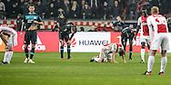 18-12-2016: Voetbal: Ajax v PSV: Amsterdam<br /> <br /> (L-R) De wedstrijd in 1 beeld gevangen na afloop van het Eredivisie duel tussen Ajax en PSV op 18 december in De Arena tijdens speelronde 17<br /> <br /> Eredivisie - Seizoen 2016 / 2017<br /> <br /> Foto: Gertjan Kooij