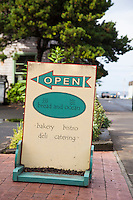 Bread and Ocean. A small bakery & restaurant in Manzanita, Oregon.