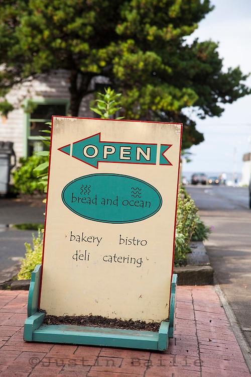 Bread and Ocean. A small bakery & restaurant in Manzanita, Oregon.