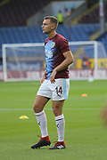 14 Ben Gibson for Burnley FC during the Europa League third qualifying round leg 2 of 2 match between Burnley and Istanbul basaksehir at Turf Moor, Burnley, England on 16 August 2018.