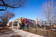 The Elliot Donnelly Youth Center in the Bronzeville neighborhood on the south side of Chicago.
