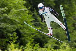 Julian Wienerroither from Austria during Ski Jumping Continental Cup Kranj 2018, on July 8, 2018 in Kranj, Slovenia. Photo by Urban Urbanc / Sportida