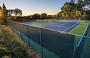 CPCC tennis courts and pool. September 7, 2016