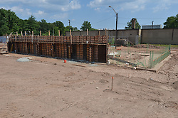 Construction Progress Photograph, Sea Street Salt Storage Facility, New Haven. Progress Documentation Submission 3.