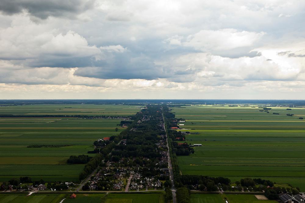 Nederland, Drenthe, Gemeente Borger-Odoorn,, 30-06-2011; Valthermond, een van de veenkolonien..luchtfoto (toeslag), aerial photo (additional fee required).copyright foto/photo Siebe Swart