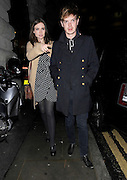 26.OCTOBER.2011. LONDON<br /> <br /> SOPHIE ELLIS BEXTOR AND RICHARD JONES AT THE SENKAI LAUNCH RESTAURANT AND BAR AT SENKAI IN REGENT STREET IN LONDON<br /> <br /> BYLINE: EDBIMAGEARCHIVE.COM<br /> <br /> *THIS IMAGE IS STRICTLY FOR UK NEWSPAPERS AND MAGAZINES ONLY*<br /> *FOR WORLD WIDE SALES AND WEB USE PLEASE CONTACT EDBIMAGEARCHIVE - 0208 954 5968*