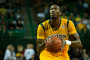 WACO, TX - JANUARY 11: Cory Jefferson #34 of the Baylor Bears shoots a free-throw against the TCU Horned Frogs on January 11, 2014 at the Ferrell Center in Waco, Texas.  (Photo by Cooper Neill/Getty Images) *** Local Caption *** Cory Jefferson