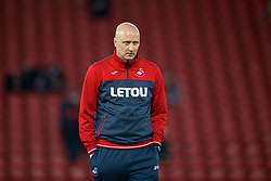LIVERPOOL, ENGLAND - Boxing Day, Tuesday, December 26, 2017: Swansea City's assistant care-taker manager Cameron Toshack before the FA Premier League match between Liverpool and Swansea City at Anfield. (Pic by David Rawcliffe/Propaganda)