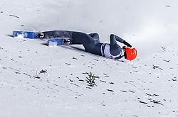 19.01.2019, Wielka Krokiew, Zakopane, POL, FIS Weltcup Skisprung, Zakopane, Herren, Teamspringen, im Bild Sturz von David Siegel (GER) // Crash of David Siegel of Germany during the men's team event of FIS Ski Jumping world cup at the Wielka Krokiew in Zakopane, Poland on 2019/01/19. EXPA Pictures © 2019, PhotoCredit: EXPA/ JFK