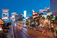 The Las Vegas strip, Nevada.