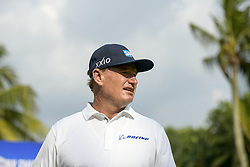 March 22, 2019 - Kuala Lumpur, Malaysia - Ernie Els of South Africa in action during Day Two of the Maybank Championship at Saujana Golf and Country Club on March 22, 2019 in Kuala Lumpur, Malaysia. (Credit Image: © Chris Jung/NurPhoto via ZUMA Press)
