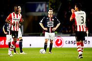 09-04-2016 VOETBAL:PSV:WILLEM II:EINDHOVEN<br /> Erik Falkenburg van Willem II teleurgesteld na de 2-0 van PSV <br /> Foto: Geert van Erven