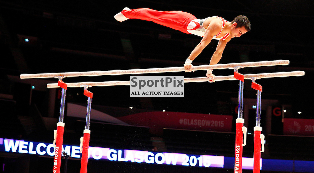 2015 Artistic Gymnastics World Championships being held in Glasgow from 23rd October to 1st November 2015......(c) STEPHEN LAWSON | SportPix.org.uk