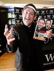 OCT 15 2013  Johnny Vegas attends Booksigning