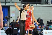 DESCRIZIONE : Final Eight Coppa Italia 2015 Desio Quarti di Finale Grissin Bon Reggio Emilia - Dolomiti Energia Aquila Trento<br /> GIOCATORE : Roberto Begnis<br /> CATEGORIA : Arbitro Referee Mani<br /> SQUADRA : AIAP<br /> EVENTO : Final Eight Coppa Italia 2015 Desio<br /> GARA : Grissin Bon Reggio Emilia - Dolomiti Energia Aquila Trento<br /> DATA : 20/02/2015<br /> SPORT : Pallacanestro <br /> AUTORE : Agenzia Ciamillo-Castoria/L.Canu