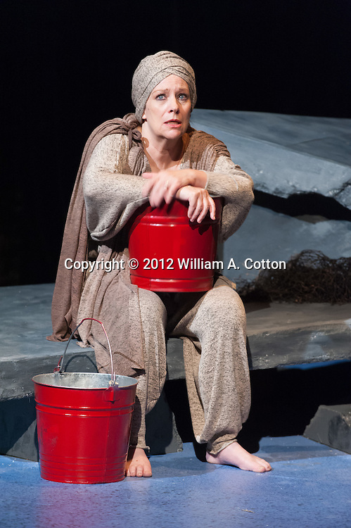 """Wendy Ishii in Bas Bleu Theatre Company's production of """"The Love of the Nighingale,"""" September 12, 2012"""