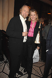 LOUISE FENNELL and ED VICTOR at a party to celebrate the publication of Table Talk by A  A Gill held at Luciano, 72-73 St.James's, London on 22nd October 2007.<br /><br />NON EXCLUSIVE - WORLD RIGHTS