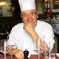 Executive Chef Herve Glin, photographed June 10, 2013, joined the The Parker Palm Springs in May. The hotel has two restaurants including Mister Parker's (seen here) and Norma's. Crystal Chatham/The Desert Sun