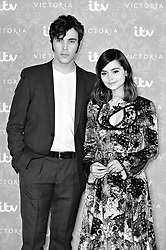 Jenna Coleman and Tom Hughes attending the Victoria Season 2 Screening at the Ham Yard Hotel, London