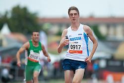 SAFRONOV Dmitrii, ALG, RUS, RSA, 100m, T35, 2013 IPC Athletics World Championships, Lyon, France