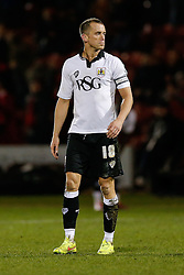 Aaron Wilbraham of Bristol City looks dejected after Crewe Alexandra win 1-0 - Photo mandatory by-line: Rogan Thomson/JMP - 07966 386802 - 20/12/2014 - SPORT - FOOTBALL - Crewe, England - Alexandra Stadium - Crewe Alexandra v Bristol City - Sky Bet League 1.