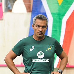 Head coach Neil Powell of South Africa during the match between South Africa and Spain at the HSBC Paris Sevens, stage of the Rugby Sevens World Series at Stade Jean Bouin on June 10, 2018 in Paris, France. (Photo by Sandra Ruhaut/Icon Sport)
