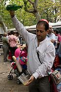 Logron?o (Spain) 21/09/2007 - 51° Fiesta de la Vendimia Riojana 2007 - Muestra de Casas Regionales - Glorieta del Dr. Zubia