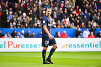 Zlatan IBRAHIMOVIC - 18.01.2015 - Paris Saint Germain / Evian Thonon - 21eme journee de Ligue 1<br />Photo : Dave Winter / Icon Sport