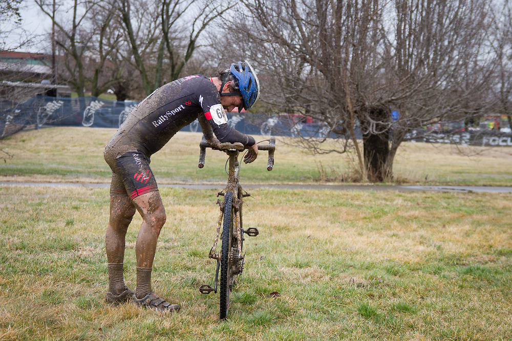 Shawn Lortie (Rally Sport Cycling Team) after finishing ninth.   ©Brian Nelson