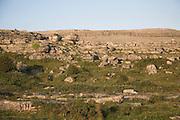 Rocky rural landscape of the Burren, Fanore, County Clare, Ireland
