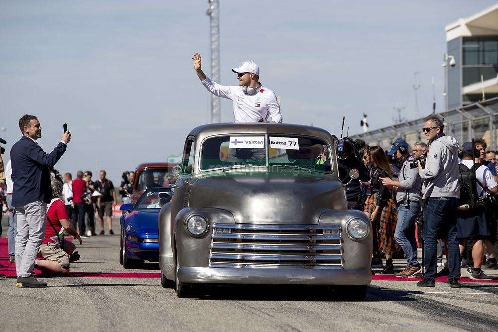 November 3, 2019, Austin, United States of America: Motorsports: FIA Formula One World Championship 2019, Grand Prix of United States, .#77 Valtteri Bottas (FIN, Mercedes AMG Petronas Motorsport) (Credit Image: © Hoch Zwei via ZUMA Wire)