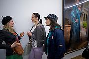 PIPPA BROOKS; MISHA MILAVANOVICH; KATY LYNTON. Cindy Sherman exhibition. Spruth Magers, London. Grafton st. London. Afterwards at Bellamy's, Bruton Place. 15 April 2009.
