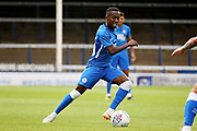 Peterborough United midfielder Siriki Dembele (10) during the Pre-Season Friendly match between Peterborough United and Bolton Wanderers at London Road, Peterborough, England on 28 July 2018. Picture by Nigel Cole.