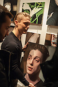 BEN ASHTON SHOWING MORE  WORK , Seduction - private view<br /> Simon Oldfield Gallery, 6 Carlos Place, London, W1K 3AP, United Kingdo