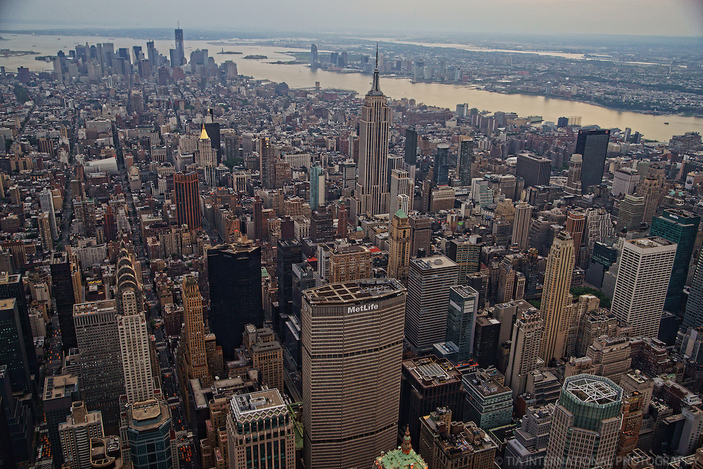 Manhattan Island & Hudson River