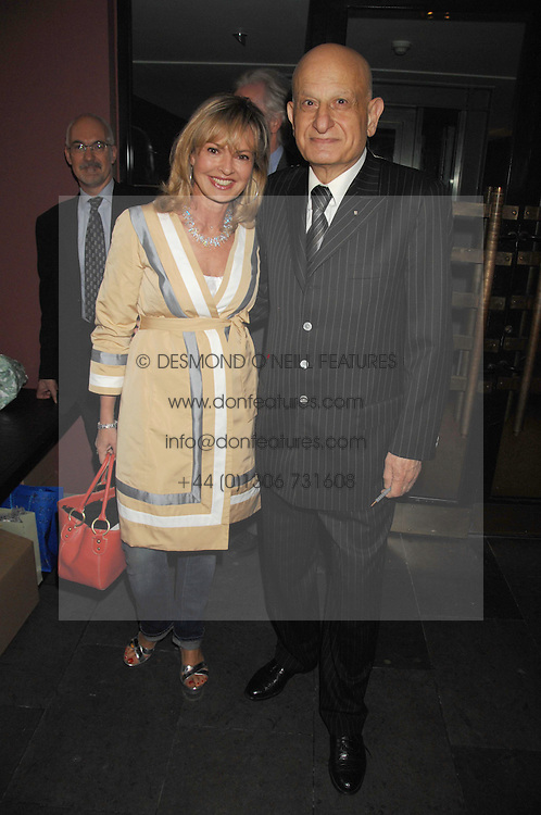NAIM ATTALLAH and COUNTESS MAYA VON SCHONBURG at a party to celebrate the publication of Nain Attallah's book'Fulfilment & Betrayal' held at The Bluebird, King's Road, London on 1st May 2007.<br /><br />NON EXCLUSIVE - WORLD RIGHTS