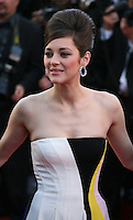 Actress Marion Cotillard at the Blood Ties film gala screening at the Cannes Film Festival Monday 20th May 2013