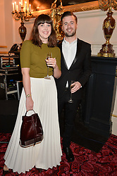 ALEXANDRA ROACH and JACK SCALES at the Audi Ballet Evening at The Royal Opera House, Covent Garden, London on 23rd April 2015.