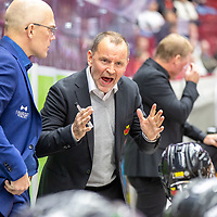 2019-09-21 | Malmö, Sweden: Luleå HF coach Thomas Berglund during the game between Malmö Redhawks and Luleå HF at Malmö Arena ( Photo by: Roger Linde | Swe Press Photo )<br /> <br /> Keywords: Malmö Arena, Malmö, Icehockey, SHL, Malmö Redhawks, Luleå HF, ml190921