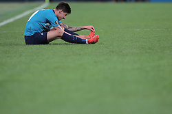 November 23, 2017 - Russia - midfielder Emiliano Rigoni of FC Zenit during UEFA Europa League Football match Zenit - Vardar. Saint Petersburg, November 23,2017 (Credit Image: © Anatoliy Medved/Pacific Press via ZUMA Wire)