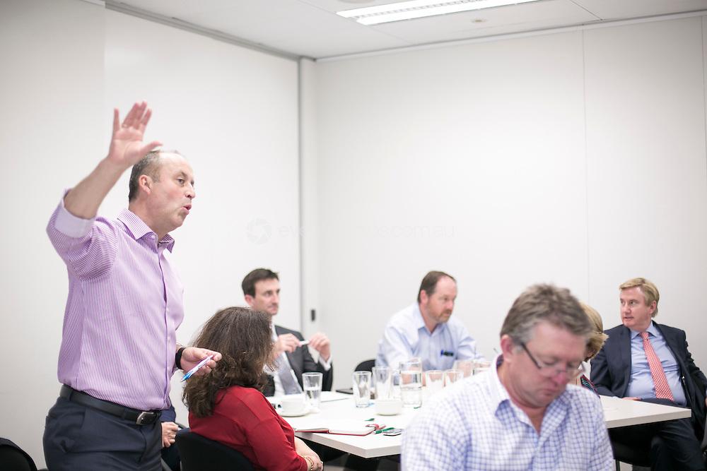 RACP AMD Specialty Societies Strategy Session 2014. Sydney. Photo: Jo Ki/Event Photos Australia