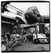 Mutoid Waste creation, <br /> Kings Cross, London<br /> Circa 1989