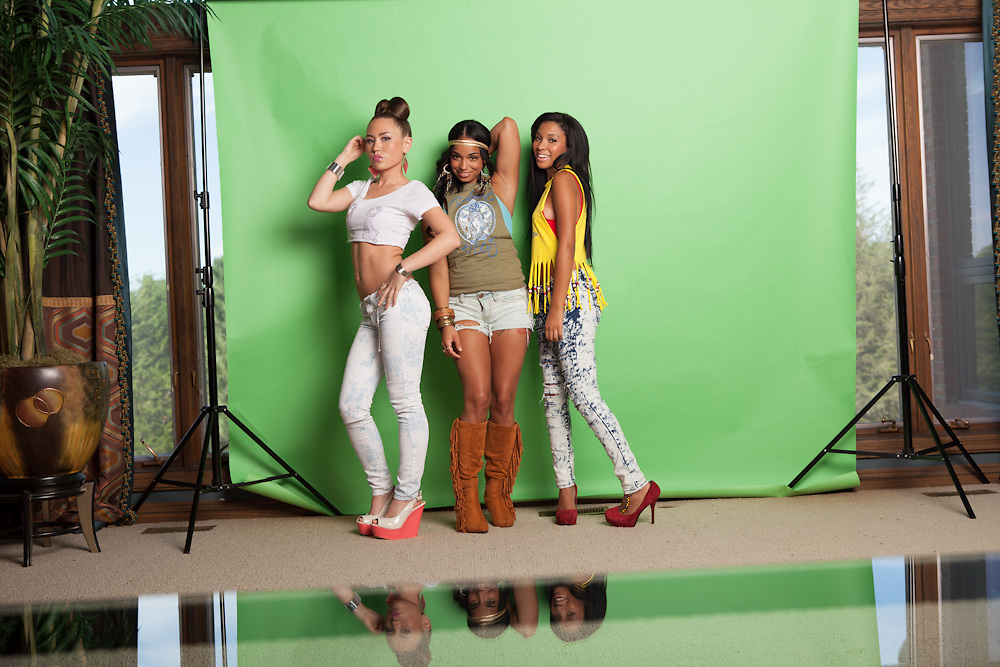17 August 2012- Robert Kitty clothing is photographed for promotional material.