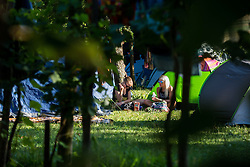 during music festival Schengen fest od / 1. August in Vinica, Slovenia.  Photo by Grega Valancic / Sportida