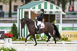 Annika Lykke Risum, (DEN), Aros A Fenris - Individual Test Grade III Para Dressage - Alltech FEI World Equestrian Games™ 2014 - Normandy, France.<br /> © Hippo Foto Team - Jon Stroud <br /> 25/06/14