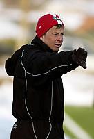 Fotball, Treningskamp Bryne<br />Bryne - Mandalskameratene<br />15.03.06<br /> Foto: Sigbjørn Hofsmo, Digitalsport <br /><br />Magnus Johansson Bryne trener