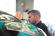 January 24-27, 2019. IMSA Weathertech Series ROLEX Daytona 24. Paul Miller Racing Lamborghini Huracan GT3 mechanic